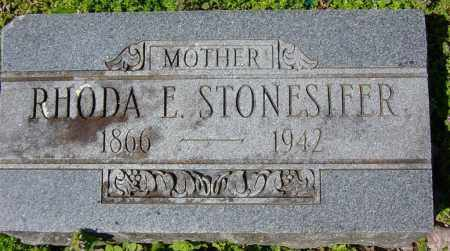 STONESIFER, RHODA E. - Washington County, Arkansas | RHODA E. STONESIFER - Arkansas Gravestone Photos