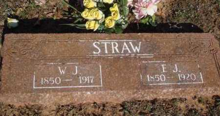 STRAW, W. J. - Washington County, Arkansas | W. J. STRAW - Arkansas Gravestone Photos