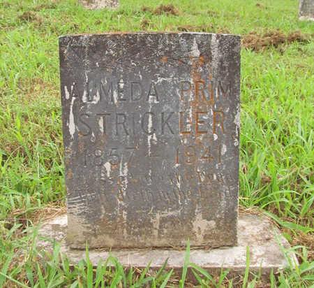 PRIM STRICKLER, ALMEDA - Washington County, Arkansas | ALMEDA PRIM STRICKLER - Arkansas Gravestone Photos