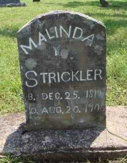 STRICKLER, MALINDA - Washington County, Arkansas | MALINDA STRICKLER - Arkansas Gravestone Photos