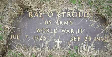 STROUD  (VETERAN WWII), RAY O. - Washington County, Arkansas | RAY O. STROUD  (VETERAN WWII) - Arkansas Gravestone Photos