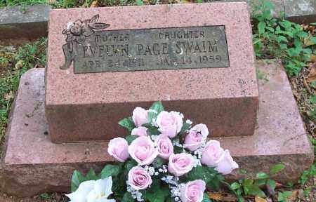 PAGE SWAIM, EVELYN - Washington County, Arkansas   EVELYN PAGE SWAIM - Arkansas Gravestone Photos
