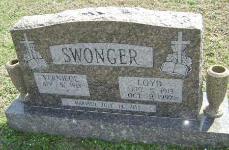 SWONGER, LOYD - Washington County, Arkansas | LOYD SWONGER - Arkansas Gravestone Photos