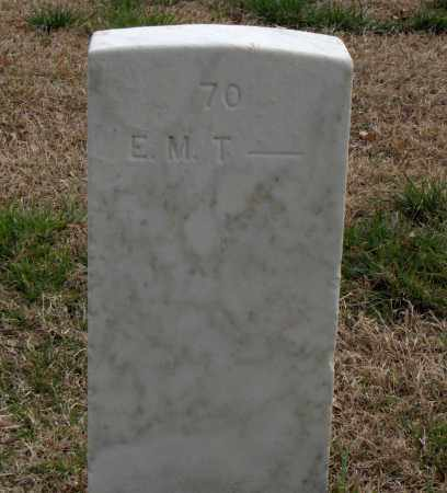 T (VETERAN), E. M. - Washington County, Arkansas | E. M. T (VETERAN) - Arkansas Gravestone Photos