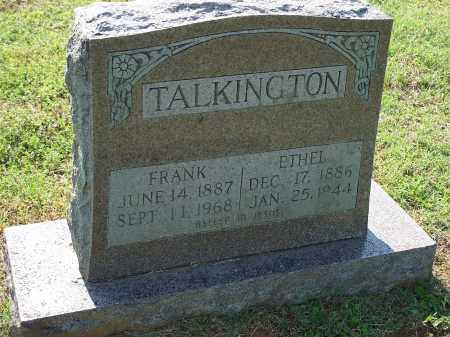 TALKINGTON, ETHEL - Washington County, Arkansas | ETHEL TALKINGTON - Arkansas Gravestone Photos