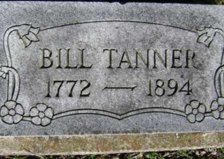TANNER, BILL - Washington County, Arkansas   BILL TANNER - Arkansas Gravestone Photos