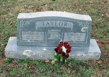 TAYLOR, SAMUEL D. - Washington County, Arkansas | SAMUEL D. TAYLOR - Arkansas Gravestone Photos