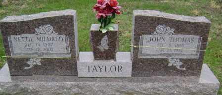 TAYLOR, NETTIE MILDRED - Washington County, Arkansas   NETTIE MILDRED TAYLOR - Arkansas Gravestone Photos