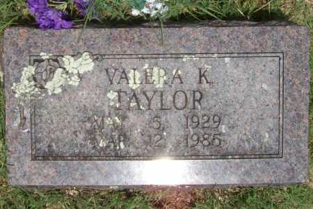 TAYLOR, VALERA K - Washington County, Arkansas | VALERA K TAYLOR - Arkansas Gravestone Photos