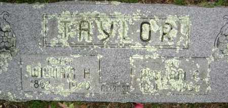 TAYLOR, WILLIAM H. - Washington County, Arkansas | WILLIAM H. TAYLOR - Arkansas Gravestone Photos
