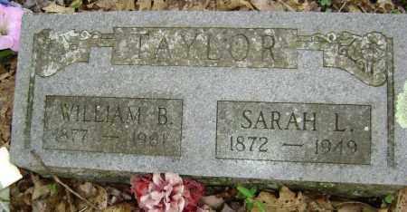 TAYLOR, WILLIAM B. - Washington County, Arkansas   WILLIAM B. TAYLOR - Arkansas Gravestone Photos
