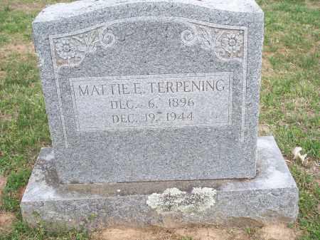 TERPENING, MATTIE E. - Washington County, Arkansas | MATTIE E. TERPENING - Arkansas Gravestone Photos