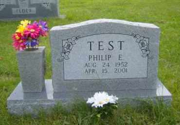 TEST, PHILIP E. - Washington County, Arkansas | PHILIP E. TEST - Arkansas Gravestone Photos