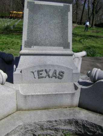 TEXAS, MEMORIAL SIDE - Washington County, Arkansas   MEMORIAL SIDE TEXAS - Arkansas Gravestone Photos