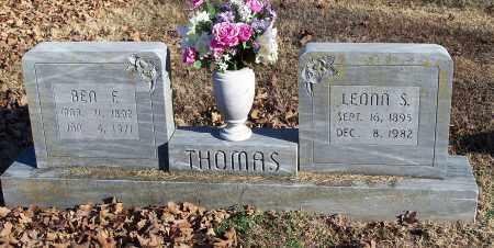 THOMAS, BEN F. - Washington County, Arkansas | BEN F. THOMAS - Arkansas Gravestone Photos