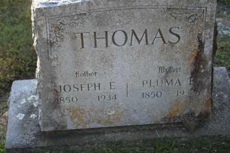 THOMAS, JOSEPH E. - Washington County, Arkansas | JOSEPH E. THOMAS - Arkansas Gravestone Photos