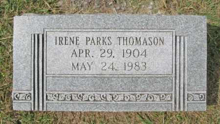 PARKS THOMASON, IRENE - Washington County, Arkansas | IRENE PARKS THOMASON - Arkansas Gravestone Photos