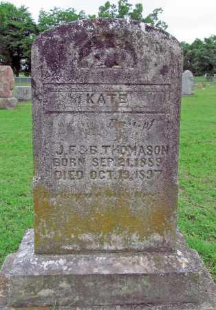 THOMASON, KATE - Washington County, Arkansas   KATE THOMASON - Arkansas Gravestone Photos