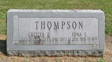 THOMPSON, CHESTER H. - Washington County, Arkansas | CHESTER H. THOMPSON - Arkansas Gravestone Photos