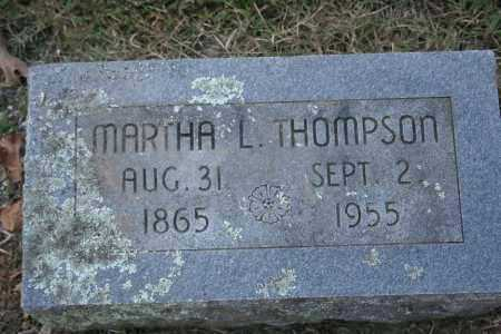 THOMPSON, MARTHA L. - Washington County, Arkansas | MARTHA L. THOMPSON - Arkansas Gravestone Photos