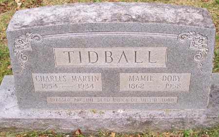 TIDBALL, CHARLES MARTIN - Washington County, Arkansas | CHARLES MARTIN TIDBALL - Arkansas Gravestone Photos