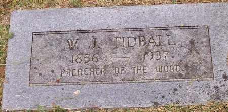TIDBALL, W J - Washington County, Arkansas   W J TIDBALL - Arkansas Gravestone Photos
