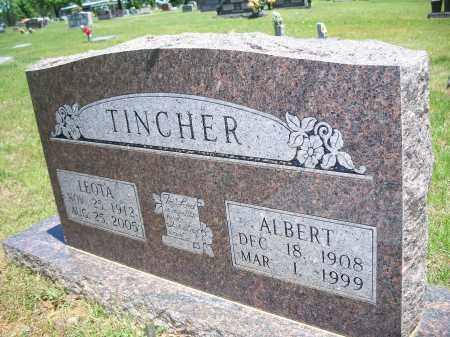 TINCHER, ALBERT - Washington County, Arkansas | ALBERT TINCHER - Arkansas Gravestone Photos