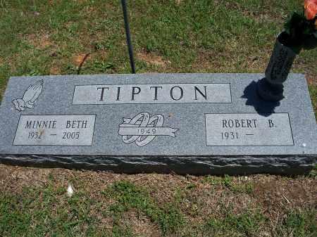 STEPHENSON TIPTON, MINNIE BETH - Washington County, Arkansas | MINNIE BETH STEPHENSON TIPTON - Arkansas Gravestone Photos