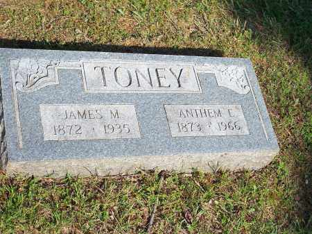 TONEY, JAMES M. - Washington County, Arkansas | JAMES M. TONEY - Arkansas Gravestone Photos