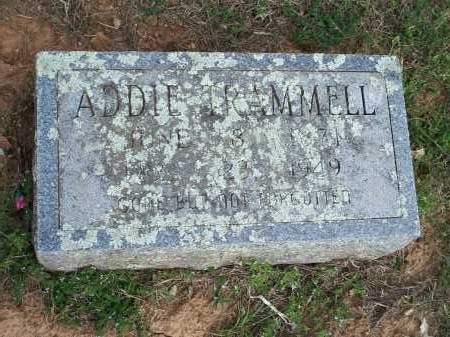 TRAMMELL, ADDIE - Washington County, Arkansas | ADDIE TRAMMELL - Arkansas Gravestone Photos