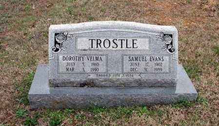 TROSTLE, SAMUEL EVANS - Washington County, Arkansas | SAMUEL EVANS TROSTLE - Arkansas Gravestone Photos