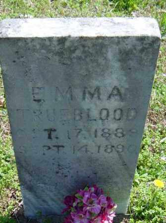 TRUEBLOOD, EMMA - Washington County, Arkansas | EMMA TRUEBLOOD - Arkansas Gravestone Photos