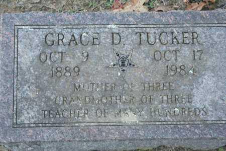 TUCKER, GRACE D. - Washington County, Arkansas | GRACE D. TUCKER - Arkansas Gravestone Photos