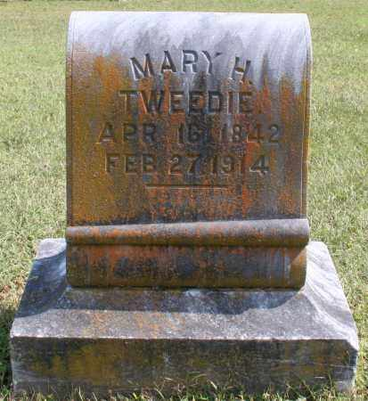 TWEEDIE, MARY H. - Washington County, Arkansas | MARY H. TWEEDIE - Arkansas Gravestone Photos