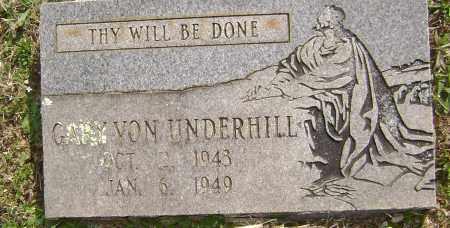 UNDERHILL, GARY VON - Washington County, Arkansas | GARY VON UNDERHILL - Arkansas Gravestone Photos