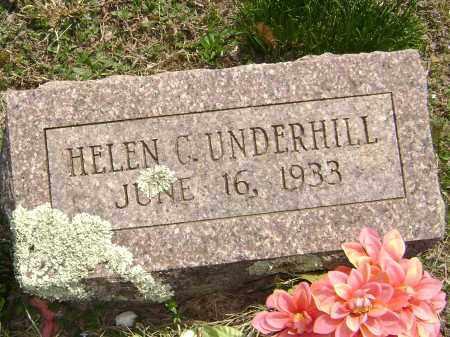 UNDERHILL, HELEN C. - Washington County, Arkansas | HELEN C. UNDERHILL - Arkansas Gravestone Photos