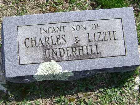 UNDERHILL, INFANT SON - Washington County, Arkansas | INFANT SON UNDERHILL - Arkansas Gravestone Photos
