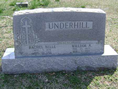 UNDERHILL, RACHEL BELLE - Washington County, Arkansas | RACHEL BELLE UNDERHILL - Arkansas Gravestone Photos