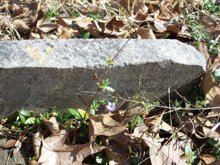 UNKNOWN, HEADSTONE - Washington County, Arkansas   HEADSTONE UNKNOWN - Arkansas Gravestone Photos