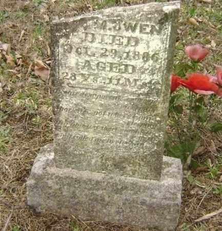 OWEN, UNREADABLE - Washington County, Arkansas | UNREADABLE OWEN - Arkansas Gravestone Photos