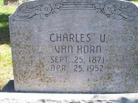 VAN HORN, CHARLES U. - Washington County, Arkansas | CHARLES U. VAN HORN - Arkansas Gravestone Photos