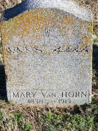 VAN HORN, MARY - Washington County, Arkansas   MARY VAN HORN - Arkansas Gravestone Photos