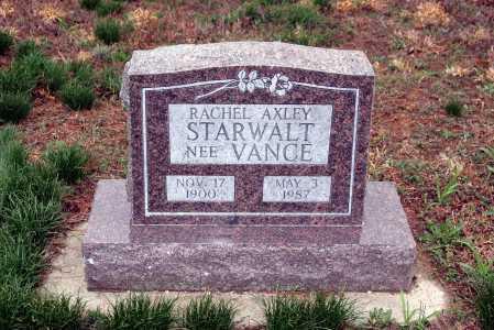 VANCE, RACHEL AXLEY - Washington County, Arkansas | RACHEL AXLEY VANCE - Arkansas Gravestone Photos