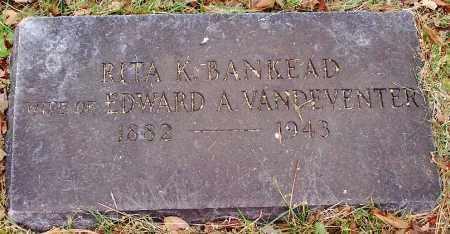 VANDEVENTER, RITA K. - Washington County, Arkansas   RITA K. VANDEVENTER - Arkansas Gravestone Photos