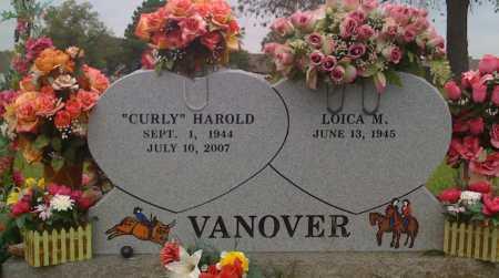 "VANOVER, HAROLD ""CURLY"" - Washington County, Arkansas | HAROLD ""CURLY"" VANOVER - Arkansas Gravestone Photos"