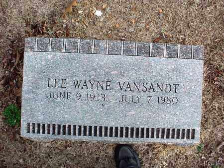 VANSANDT, LEE WAYNE - Washington County, Arkansas | LEE WAYNE VANSANDT - Arkansas Gravestone Photos