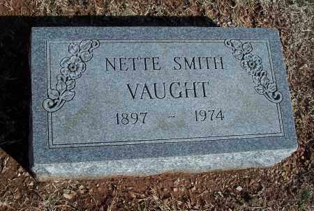 SMITH VAUGHT, NETTE - Washington County, Arkansas | NETTE SMITH VAUGHT - Arkansas Gravestone Photos
