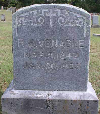 VENABLE, R. B. - Washington County, Arkansas | R. B. VENABLE - Arkansas Gravestone Photos