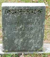 WAGNER, MARY FRANCES - Washington County, Arkansas   MARY FRANCES WAGNER - Arkansas Gravestone Photos