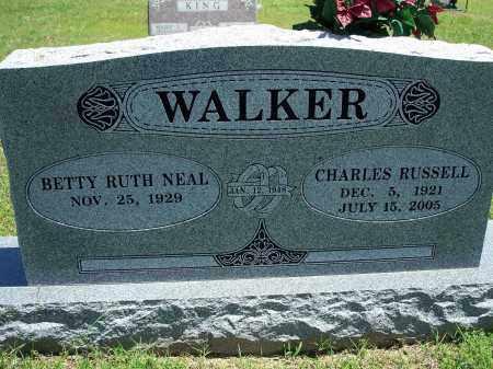 WALKER, CHARLES RUSSELL - Washington County, Arkansas   CHARLES RUSSELL WALKER - Arkansas Gravestone Photos